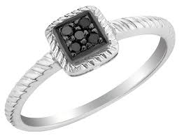black diamond promise ring black diamond promise rings for women and men wedgelog design
