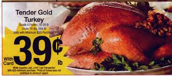 qfc turkey 0 39 cents a pound minimum 25 purchase before