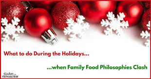 do you fight about food during the holidays