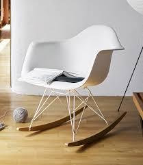 eames plastic arm rocking chair rar ivory vitra limited edition