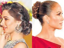 fashion forward hair up do easy to do glam updos for the bride fashion and trends hindustan