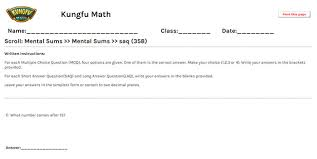 math grade 1 mental sums worksheets and resources singapore math