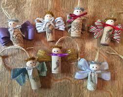 wine cork ornaments etsy