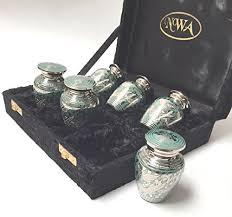 keepsake urns funeral cremation keepsake urns set of 6 farm garden superstore