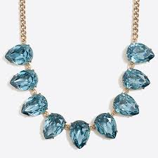 crystal necklace statement images Crystal teardrop statement necklace factorywomen necklaces factory 1,0,0
