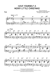 yourself a merry piano sheet for