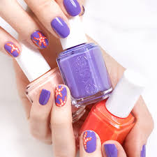 how to essie starfish nail art manicure