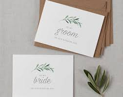 groom to card to my groom card etsy