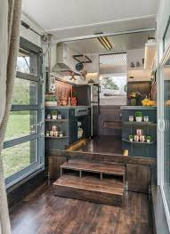 small homes interiors the jaw dropping escher tiny house on wheels by new frontier