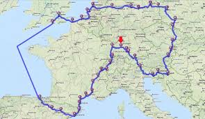 Map Qust Route U2013 Biking For Democracy