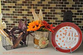 easy fall centerpiece cards we drew