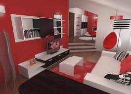 beautiful best red and white bedroom designs for hall kitchen