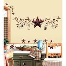 star decor for home rustic star decor best barn ideas on country set of 3 large metal