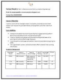 resume format for freshers engineers eceti fresh essays resume format for engineers freshers ece
