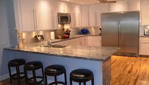 blue kitchen cabinets granite countertop exitallergy com