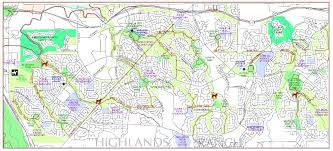 Littleton Colorado Map by Highlands Ranch Trail System Douglas County Government