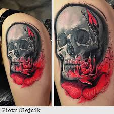 cool skull on hip best ideas gallery