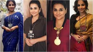 style statement necklace images Vidya balan and her statement necklaces have their own kahaani jpg