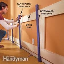 Wainscoting Shaker Style How To Build A Wainscoted Wall Family Handyman