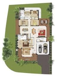 Nursing Home Layout Design 2d Floor Plan For Modern Duplex 2 Floor House Area 800 Sq M