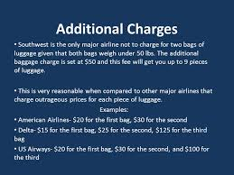 southwest baggage fees southwest airlines strategic issues decisions ryan taylor todd