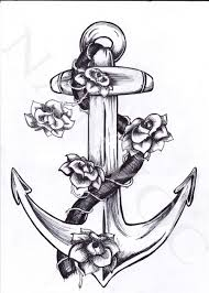 heart and flowers tattoo anchor tattoo pretty much what i want for the tattoo i want to