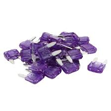 isuzu amigo purple 30 pcs motorcycle car auto atc ato mini blade fuse purple 3a