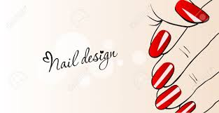 nails clipart beautiful hand pencil and in color nails clipart