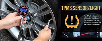 tire pressure sensor light amazon com diyco digital tire pressure gauge for cars motorcycle