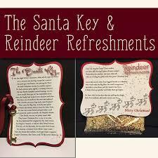 santa key santa key and reindeer refreshment finders keepers