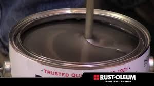 rust oleum industrial steel tech youtube