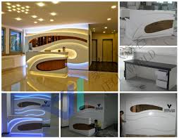 Illuminated Reception Desk Reception Desk Tell World Solid Surface Co Ltd Page 2