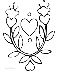 flower coloring pages 005