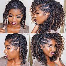stranded rods hairstyle how to loose strand twist for long or short hair natural