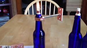 make a tiki torch out of a bottle youtube
