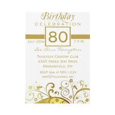 wording for 80th birthday invitations cloveranddot com