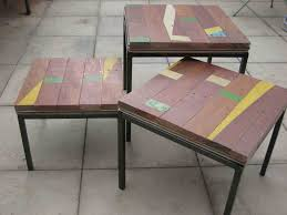 Nesting Tables Ikea by 3 Pointer Recycled Timber Vs Basketball Vs Ikea Klubbo Ikea