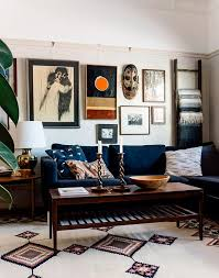 Best Eclectic Living Room Ideas On Pinterest Dark Blue Walls - Interior designing home pictures