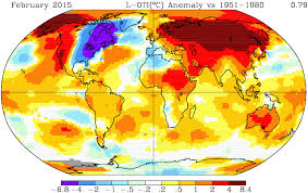louisiana map global warming accelerating global warming nasa shows february of 2015 was