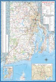Canada Highway Map by New England State Maps Discover New England
