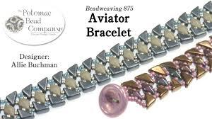 beaded bracelet tutorials youtube images Aviator bracelet tutorial jpg
