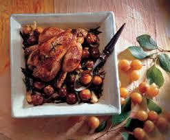 cuisiner le coquelet recette coquelets rôtis aux mirabelles et aux épices
