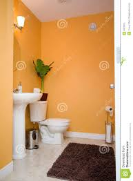 orange bathroom home design inspiration ideas and pictures