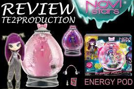 review novi stars playset energy pod nita light youtube