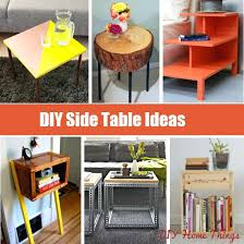 Unique Nightstand Ideas Side Table Unique Bedside Tables Creative Side Table Ideas