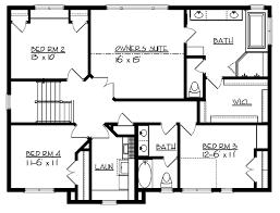 craftsman style house plan 4 beds 2 5 baths 3802 sq ft plan 320