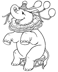circus coloring pages printable a whole page of printable elephant coloring pages to choose from