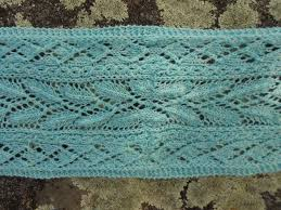 mint lace scarf pattern knitting patterns and crochet patterns