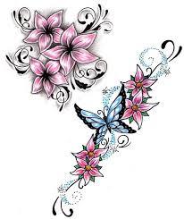 flowers tattoos design sle
