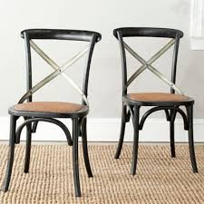 Safavieh Dining Chair Buy Black X Back Dining Chairs From Bed Bath U0026 Beyond